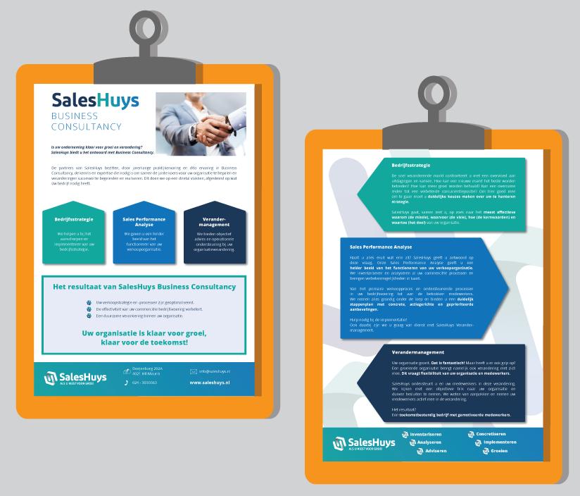 Flyer SalesHuys